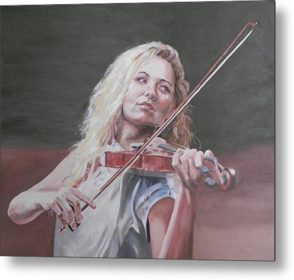 Violin Solo Metal Print