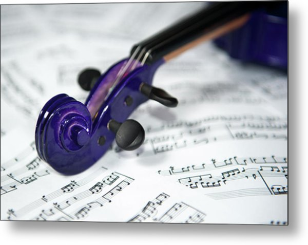 Violin Tuning Pegs  Metal Print