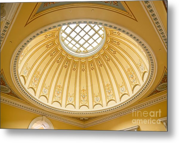 Metal Print featuring the photograph Virginia Capitol - Dome Profile by Jemmy Archer