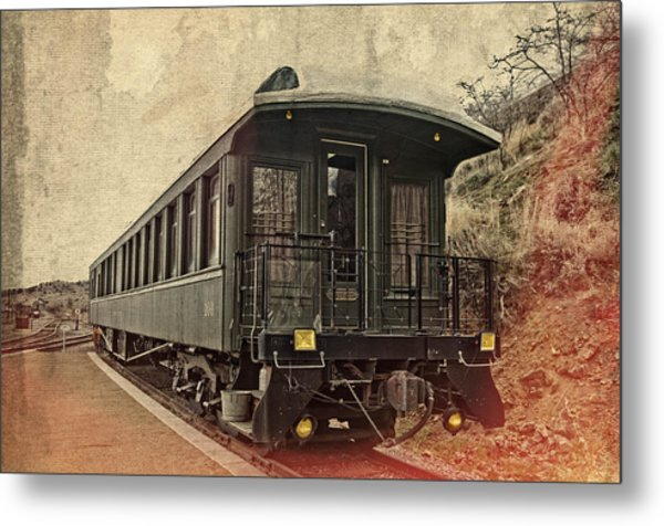 Virginia City Pullman Car Metal Print