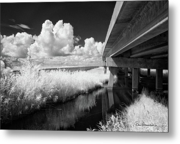 Virginia Dare Bridge 6303 Metal Print by Dan Beauvais