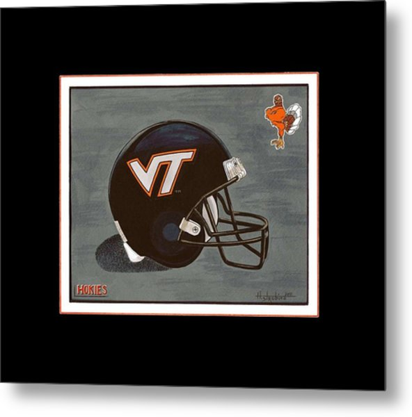 Virginia Tech T-shirt Metal Print