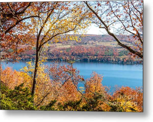 Vista From Garrett Chapel Metal Print