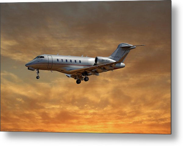 Vista Jet Bombardier Challenger 300 2 Metal Print