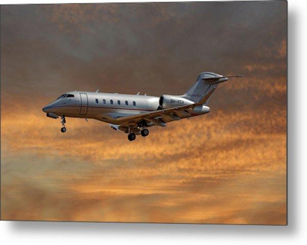 Vista Jet Bombardier Challenger 300 3 Metal Print