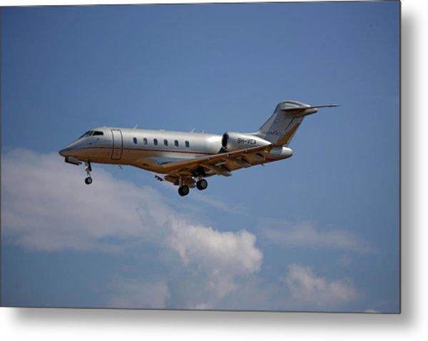 Vista Jet Bombardier Challenger 300 4 Metal Print