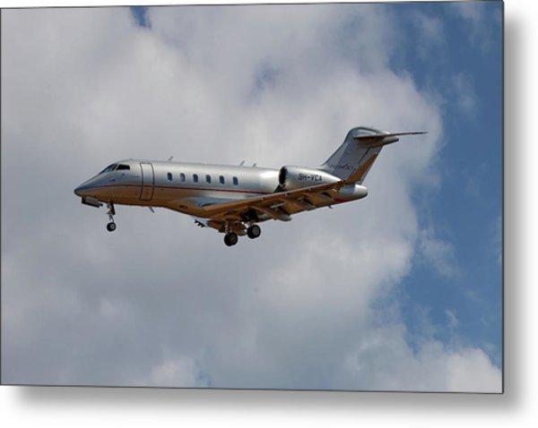 Vista Jet Bombardier Challenger 300 5 Metal Print