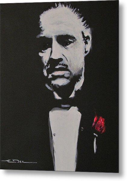 Vito Andolini Corleone Metal Print