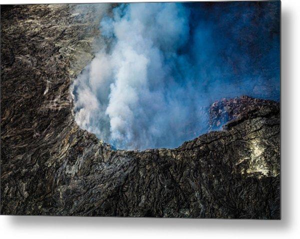 Another View Of The Kalauea Volcano Metal Print