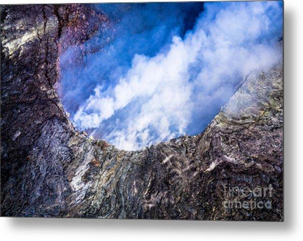 Kilauea Volcano Metal Print