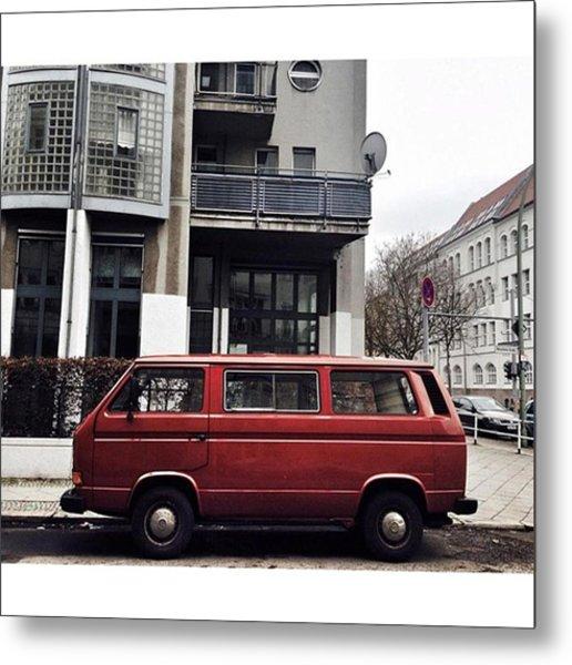 Volkswagen T3 Bus  #berlin #neukölln Metal Print