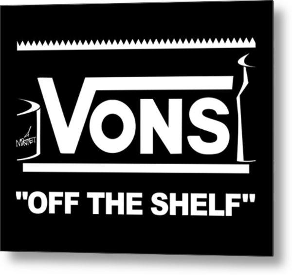 Vons Metal Print