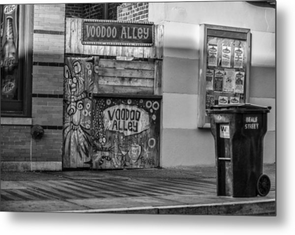 Voodoo Alley Metal Print