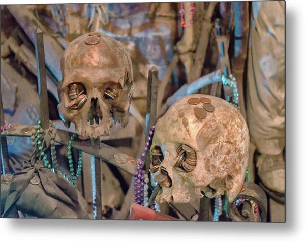Voodoo Altar Metal Print