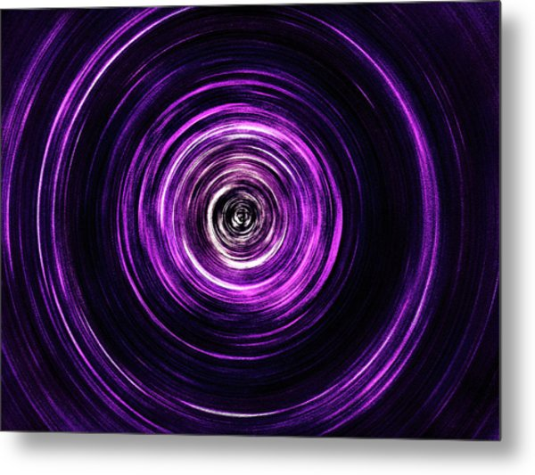 Vortex Into The Unknown Metal Print