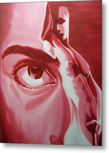 Voyeur And Exhibitionist Metal Print by Davinia Hart