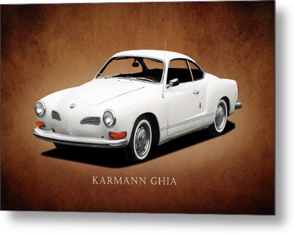 Vw Karmann Ghia Metal Print