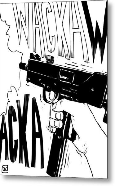 Wacka Wacka Metal Print
