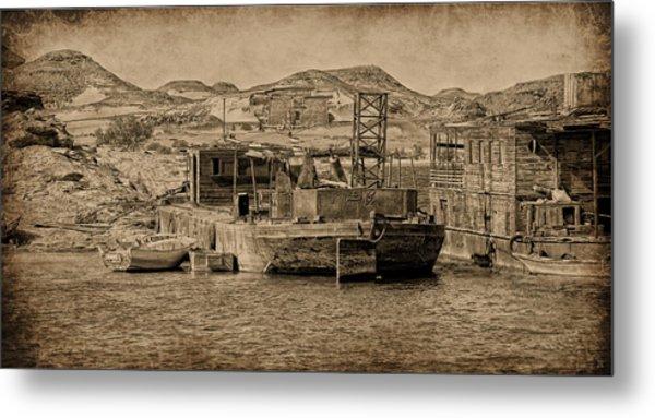 Metal Print featuring the photograph Wadi Es Sebua by Nigel Fletcher-Jones