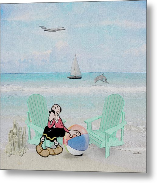 Waiting For Popeye Metal Print