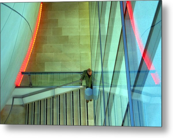 Waiting Here For You Metal Print by Jez C Self