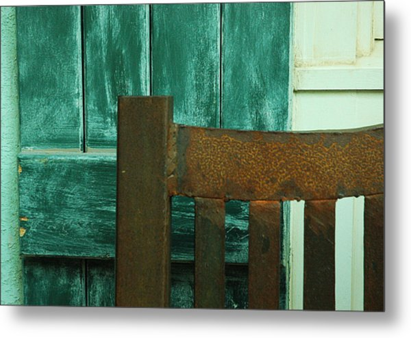 Waiting On You Metal Print by Lori Mellen-Pagliaro