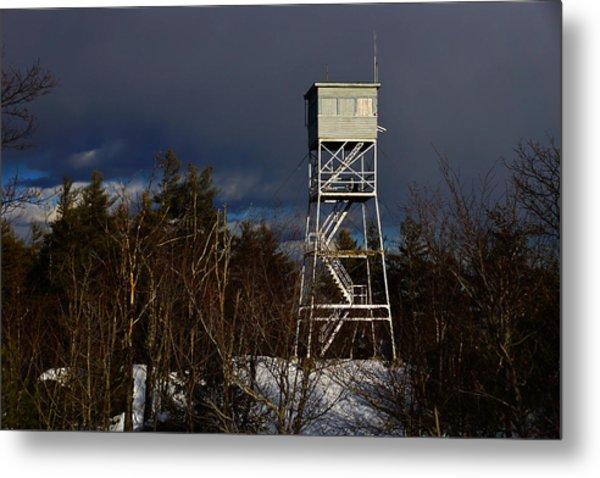 Waiting Tower Metal Print