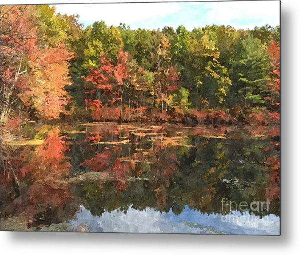 Walden Pond Metal Print by Bryan Attewell