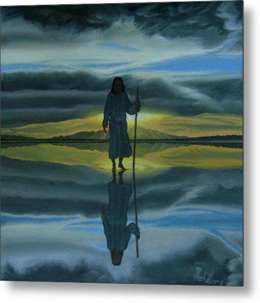Walk With You Metal Print