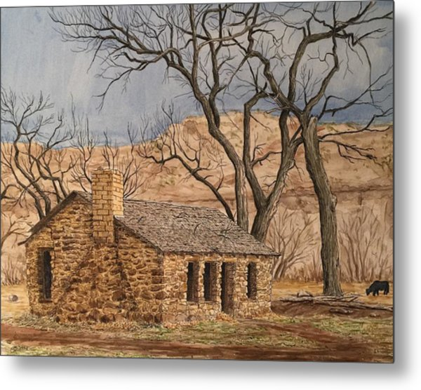 Walker Homestead In Escalante Canyon Metal Print