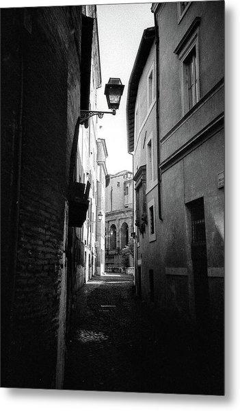 Walking Near The Campidoglio Metal Print
