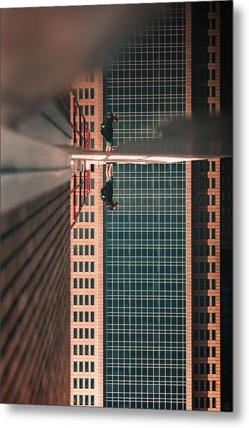 Walking On Clouds Metal Print