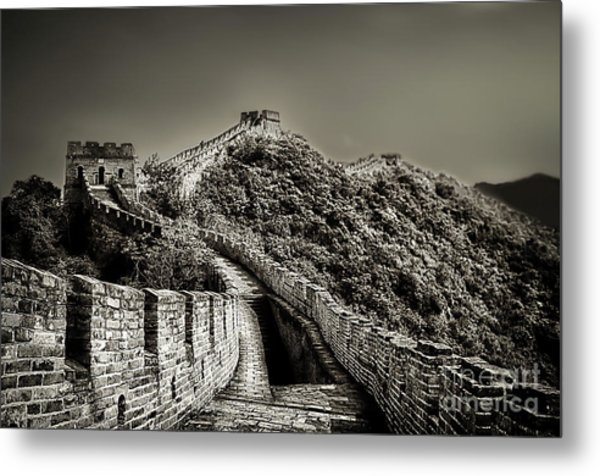Walking On The History Metal Print by Alessandro Giorgi Art Photography