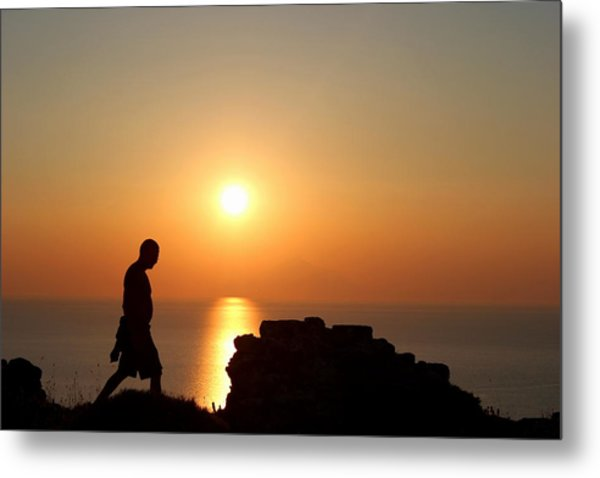 Walking Paradise Metal Print