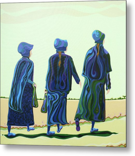 Walking The Walk Metal Print