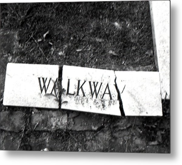 Walkway Metal Print by Utopia Concepts