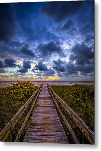 Walkway To Tomorrow. Metal Print
