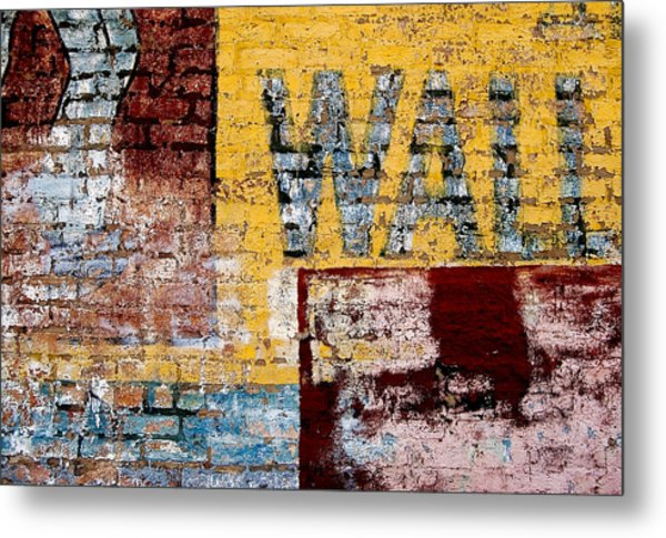 Wall Metal Print by Curtis Staiger