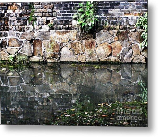 Wall Reflection Metal Print by Kathy Daxon