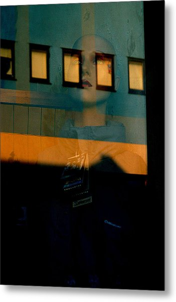 Walled In In This Odd World Metal Print by Jez C Self