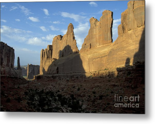 Walls Of Broadway Metal Print by Stan and Anne Foster