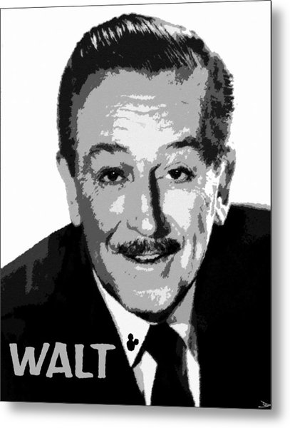 Walt Metal Print
