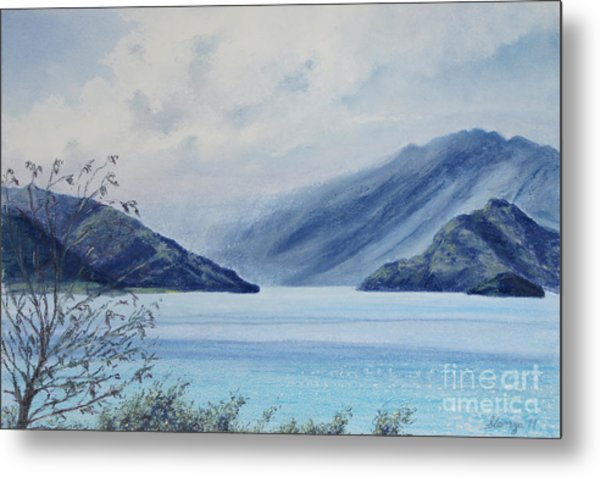 Wanaka Lake Metal Print