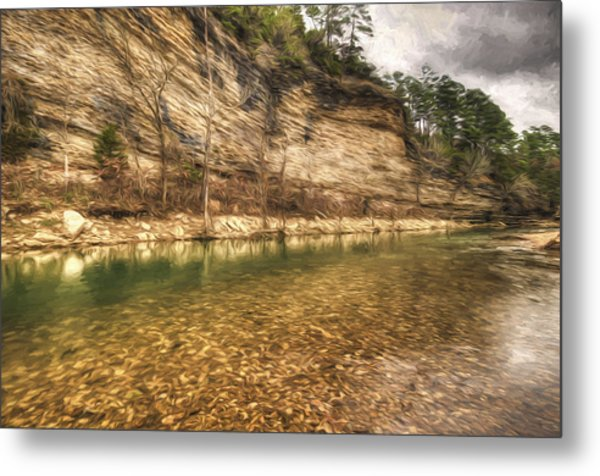 War Eagle Bluff Metal Print
