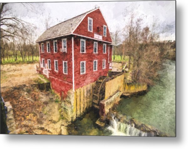 War Eagle Mill Metal Print