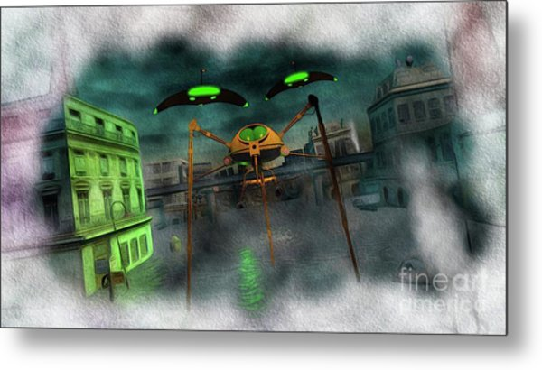 War Of The Worlds Part 1 Metal Print