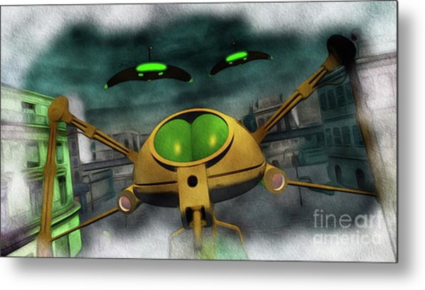 War Of The Worlds Part 2 Metal Print