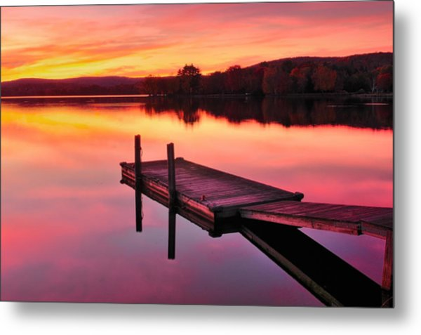 Waramaug Sunset Metal Print