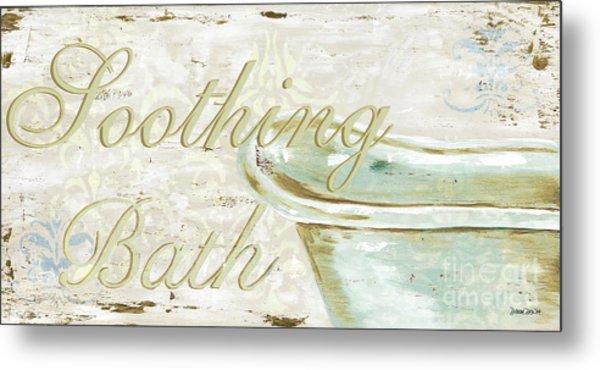 Warm Bath 1 Metal Print