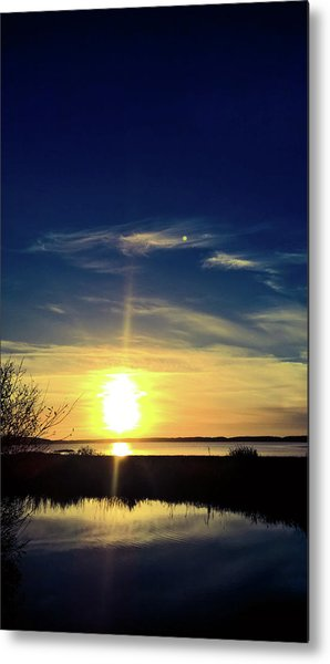 Metal Print featuring the photograph Warm Glow by Pacific Northwest Imagery